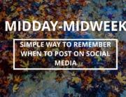 times for posting online social media